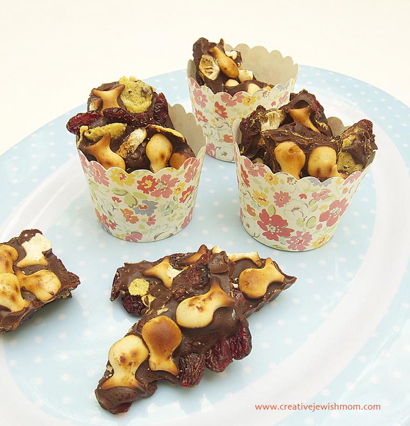 Chocolate Bark for Rosh HaShana
