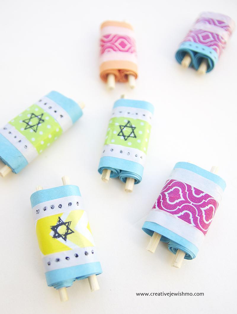Torah Scrolls Craft For Kids