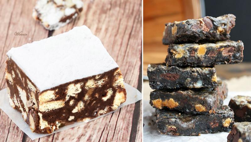 No bake chocolate cookie cake,chocolate bars