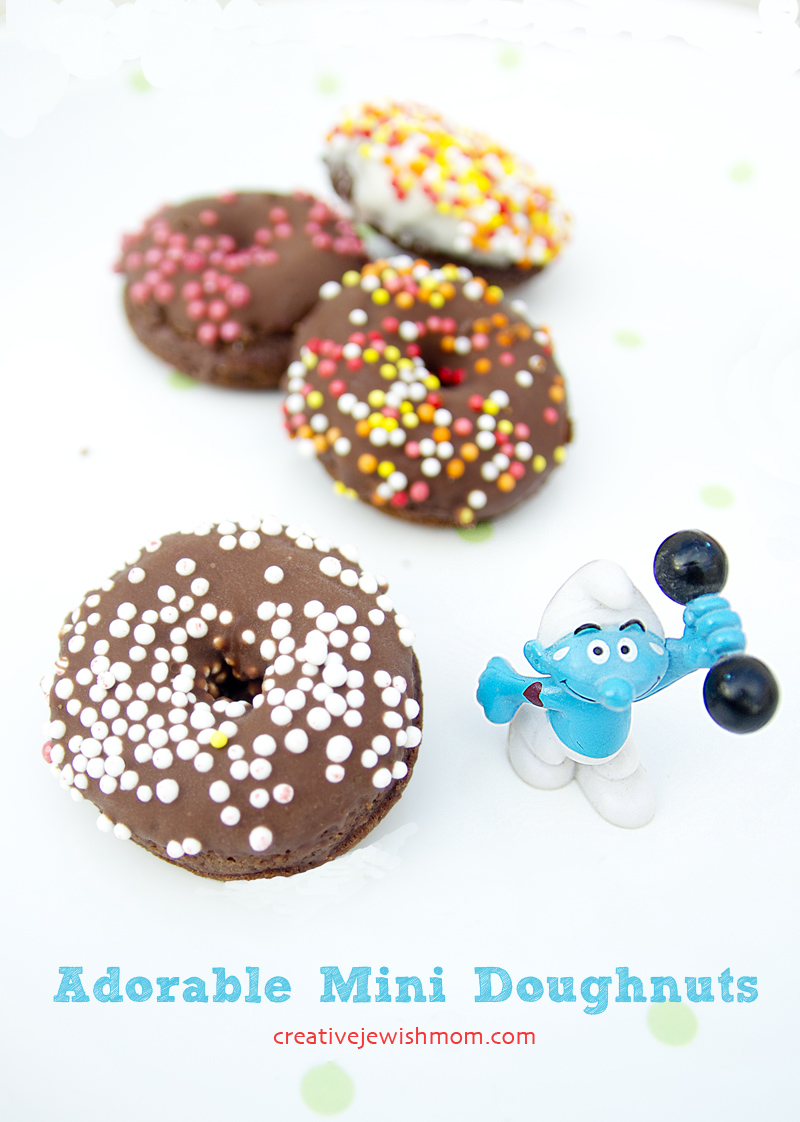 Mini Chocolate Doughnuts