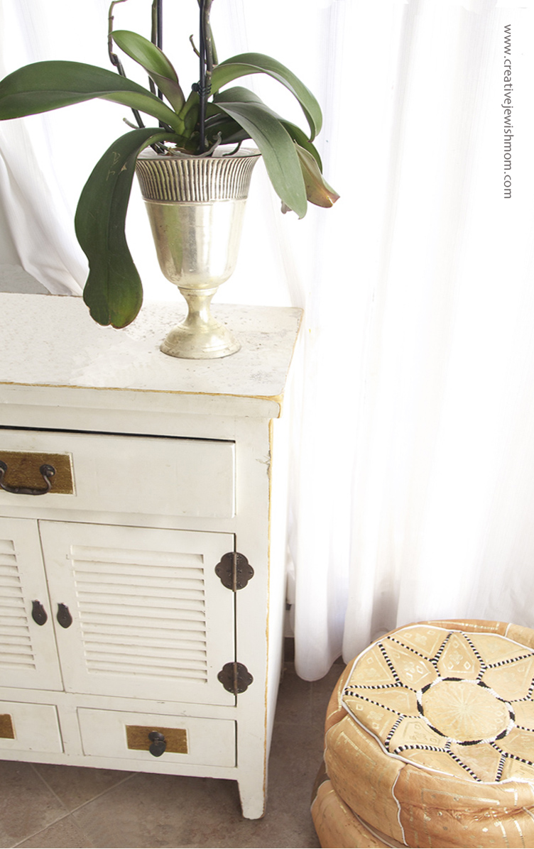 Orchid On Side Table