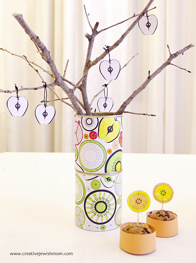 Tu B'Shevat Kid's Craft Centerpiece