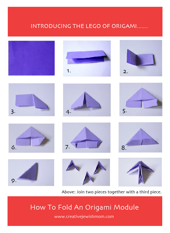 Origami Module How To Fold