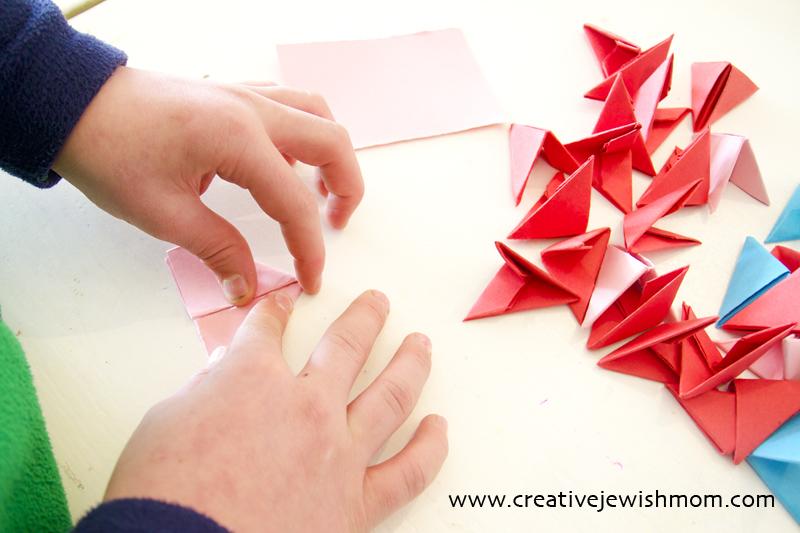 Origami Modular folding pieces