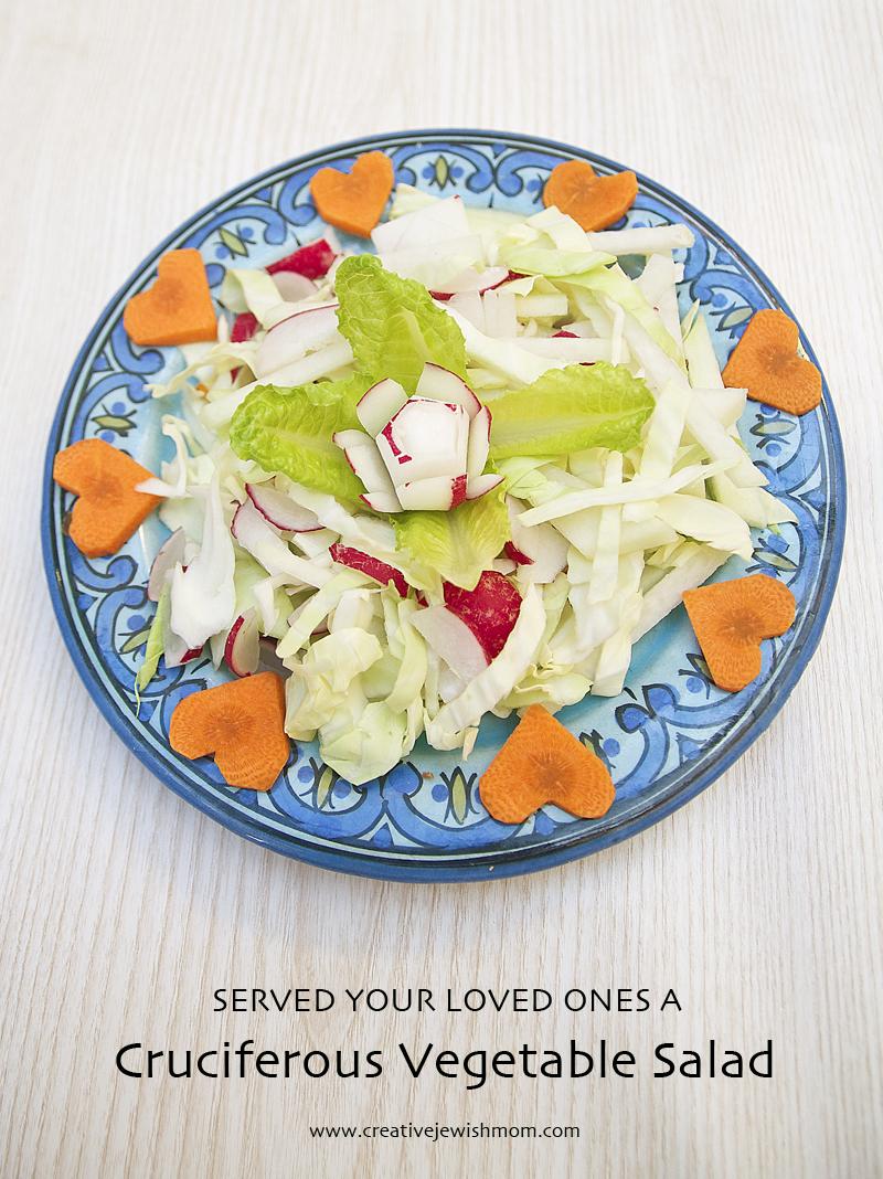 Cruciferous Vegetable Salad