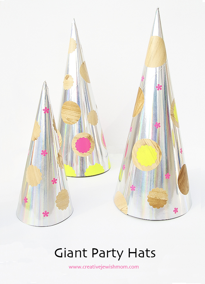 Giant Party Hats Table Decor