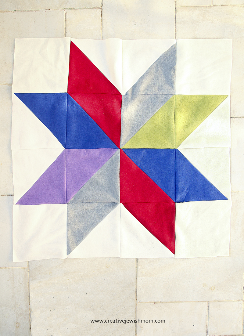 Giant Quilt Block Fleece