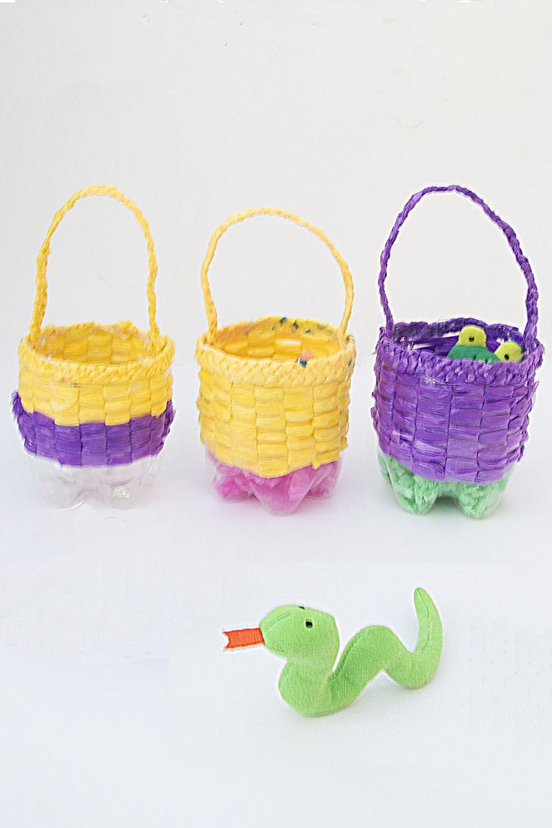Recycled Bottle Basket Craft For Kids Favor Baskets 900 pix