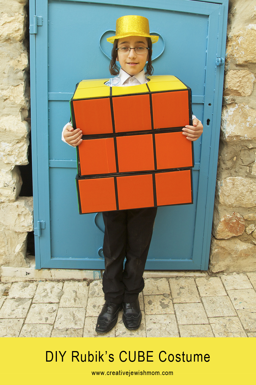 Creative jewish mom costumes rubiks cube costume diy for kids solutioingenieria Gallery
