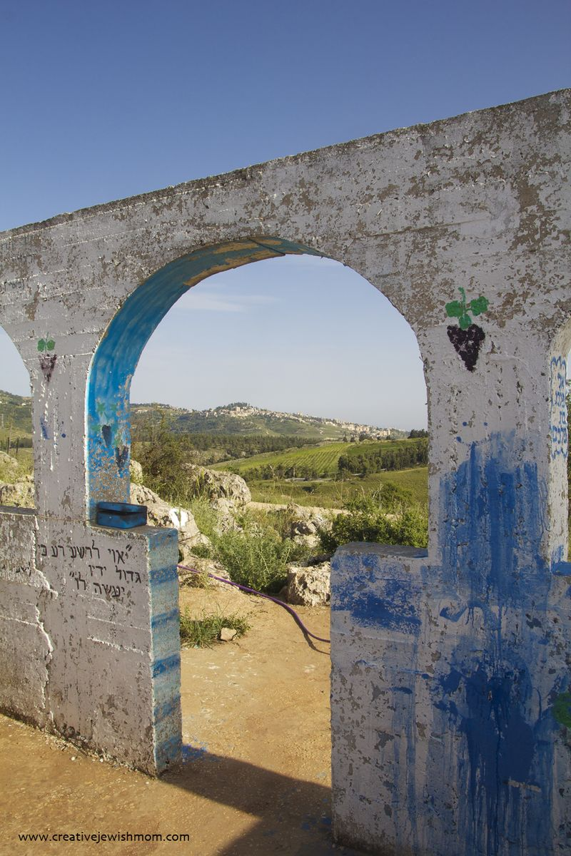 Elkana Gravesite Entrance