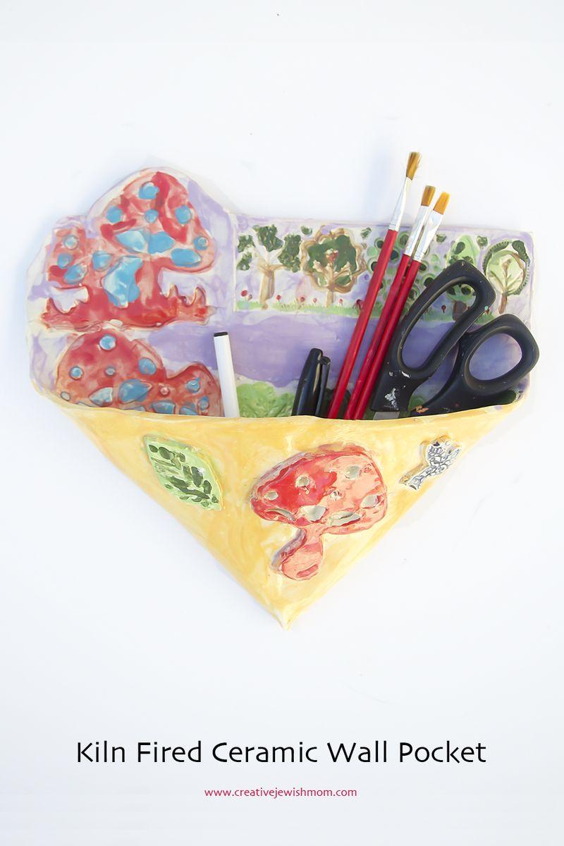 Ceramic Wall Pocket Craft For Kids