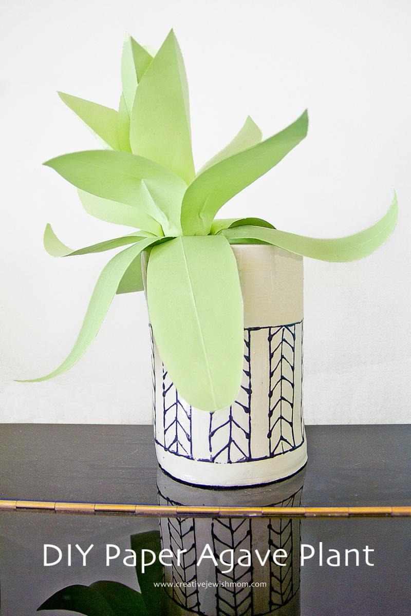 Paper Plant DIY Agave