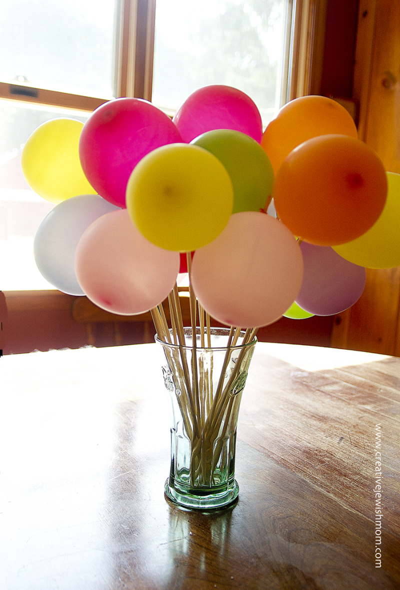 Balloon Bouquet In Glass