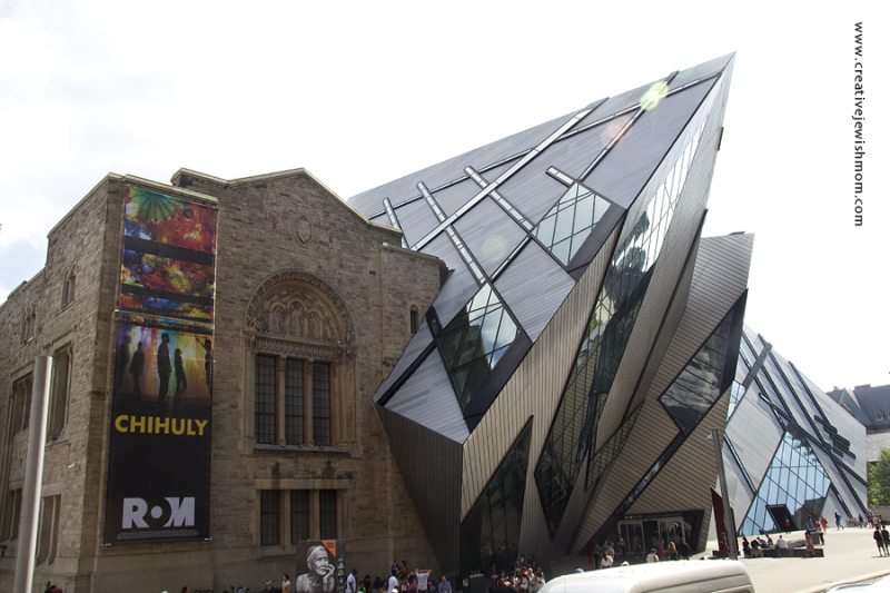 Toronto Modern Arch Libeskind Museum
