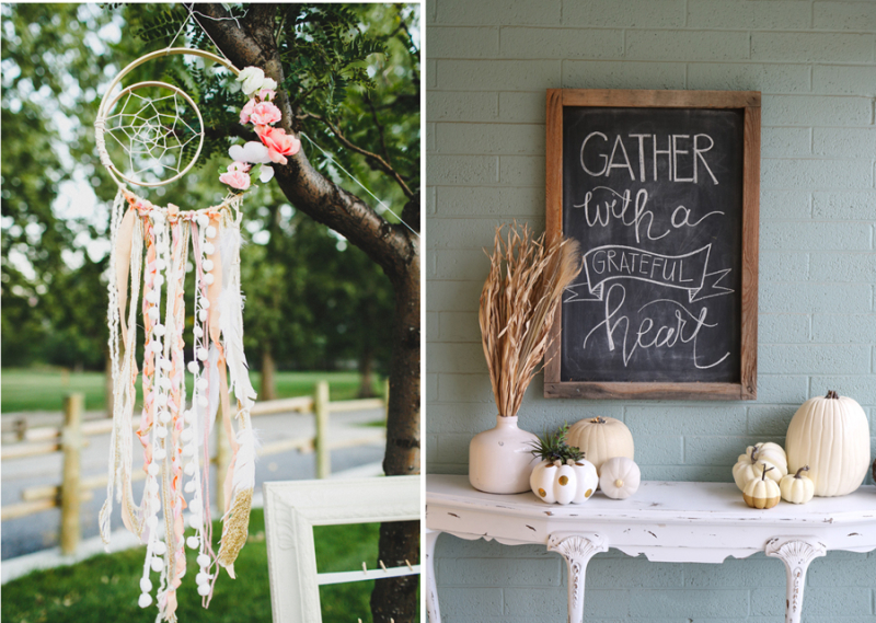 Dream catcher birthday decor,thanksgiving chalkboard art