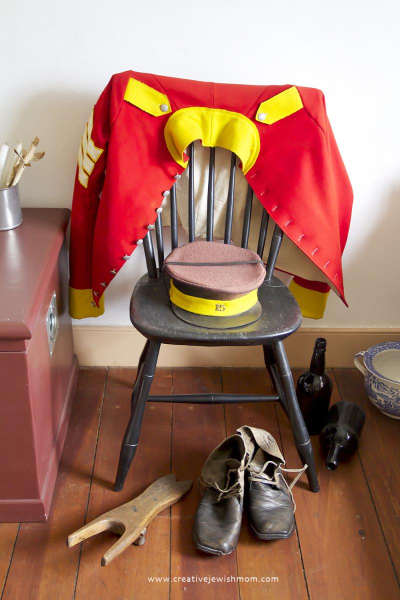 Fort York Toronto Uniform on Chair