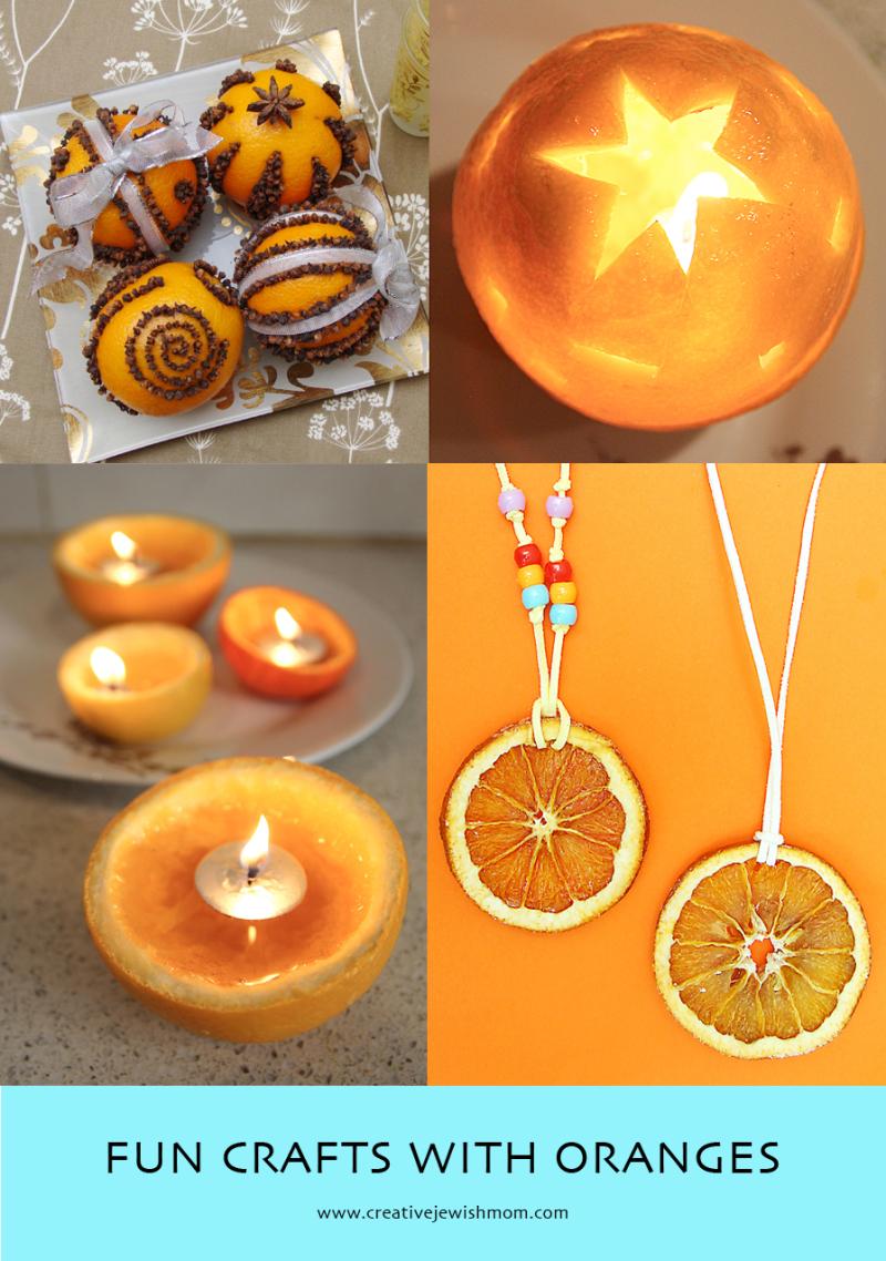 Crafts with oranges