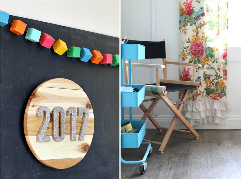 DIY circular wood numbers plaque,vinyl flooring review