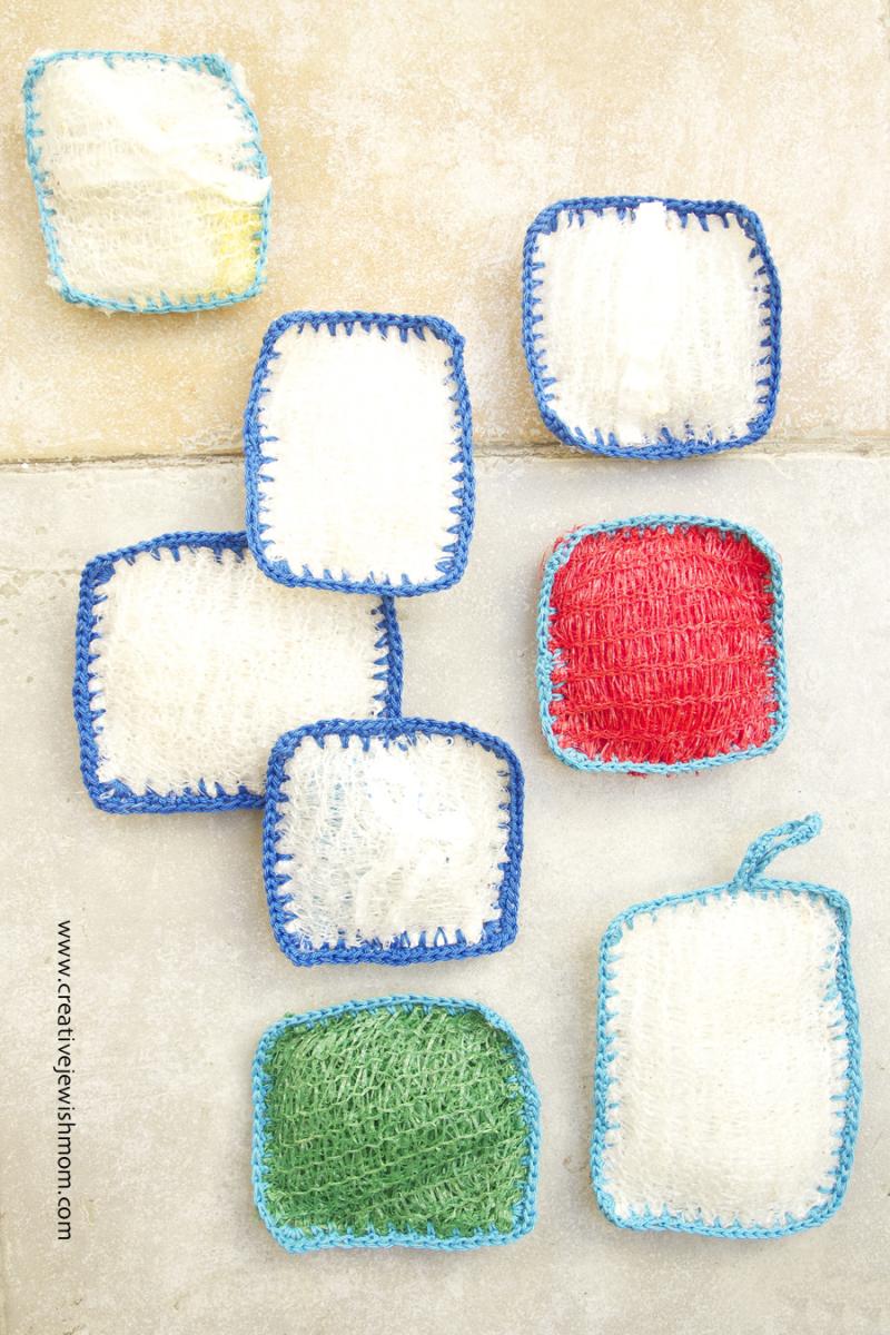 Crocheted Kitchen And Bath Scrubbies