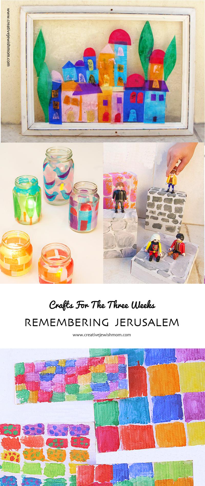 Remember Jerusalem Crafts Roundup
