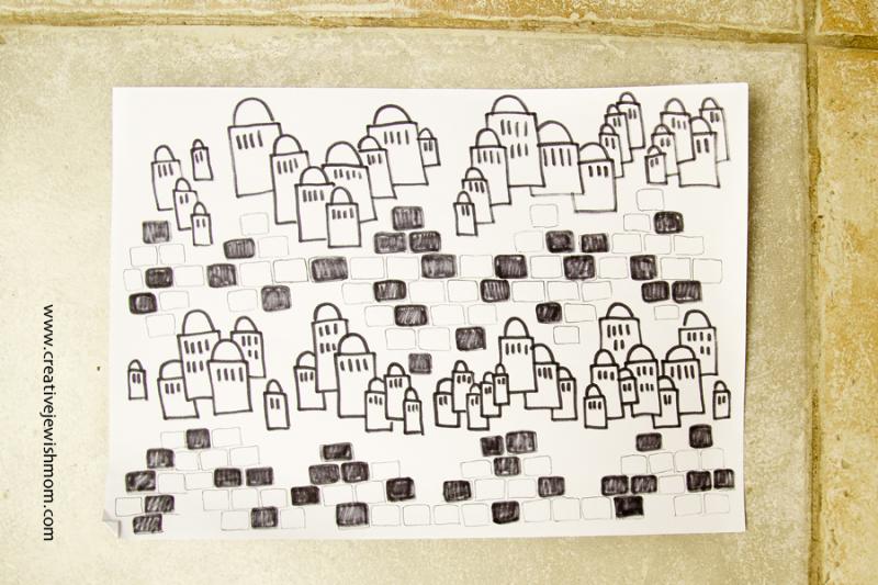 Jerusalem Hills Doodle Craft