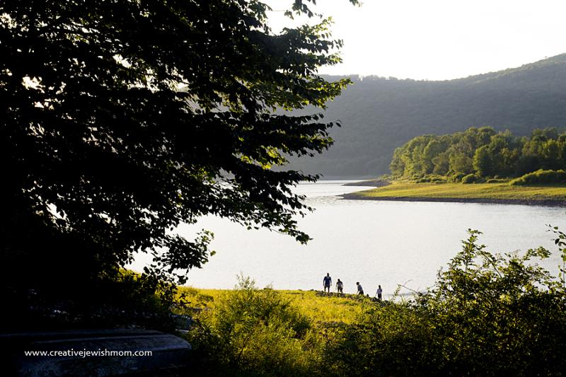 Cannonsville Reservoir In afternnoon
