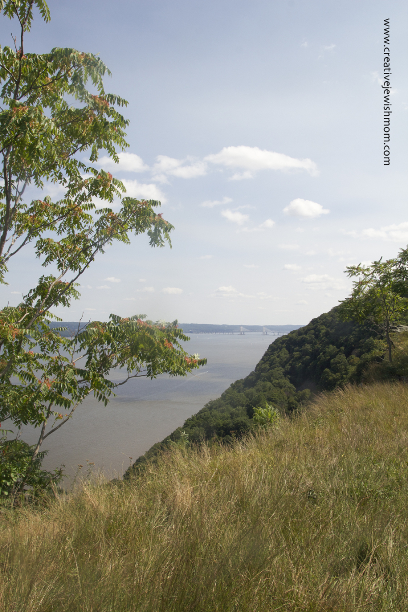 Hudson River View from top of Hook Mountain