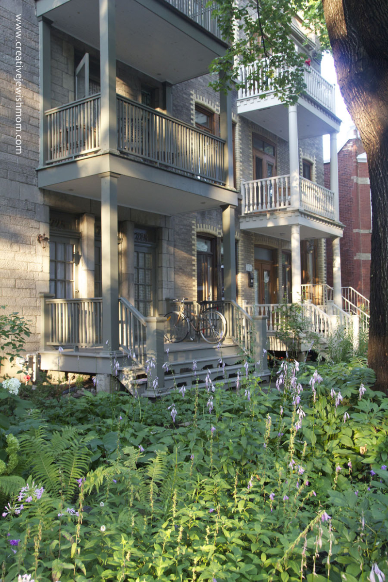 Montreal Outremont Front Porches