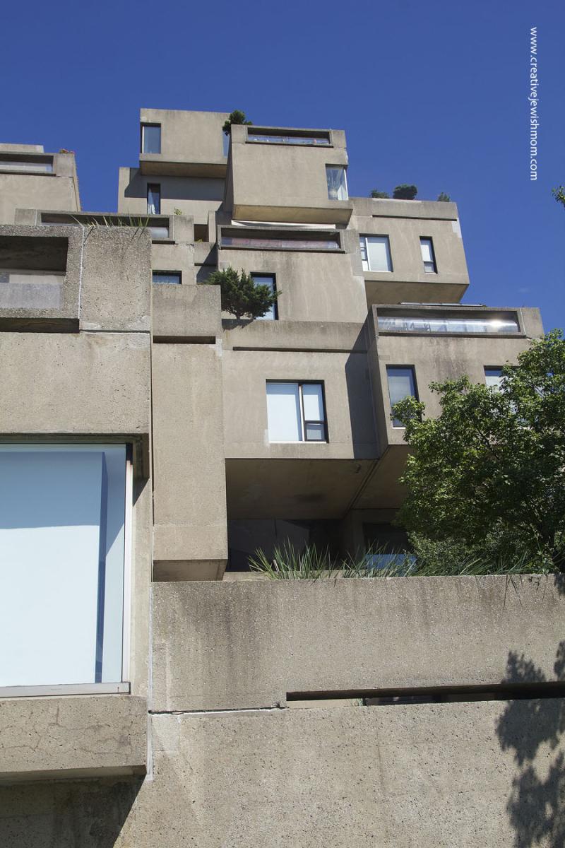 Montreal Habitat Apartment Brutalism