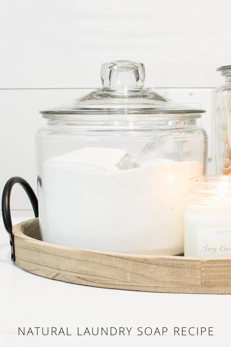 DIY Natural Laundry Soap Recipe