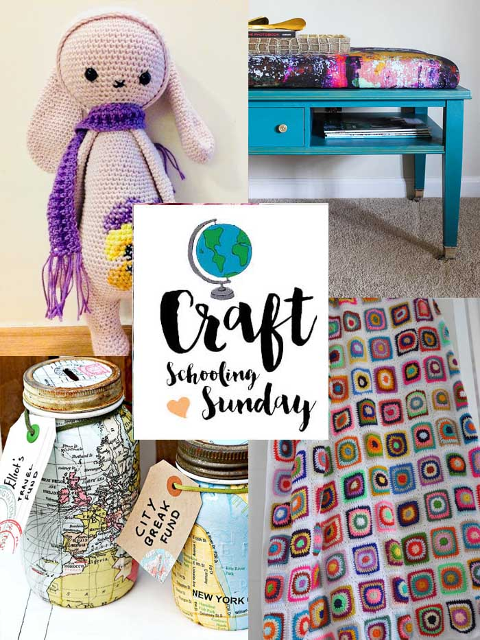 Craft schooling sunday collage