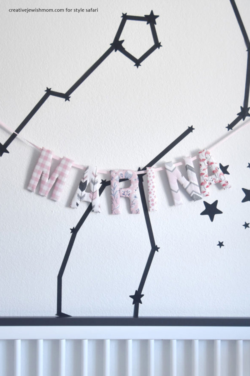 Baby-name-banner-with-fabric