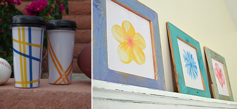 DIY-palette-frames washi-tape-coffee-cups