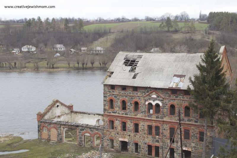 Bratslav Ukraine Old Soliterman Mill on Bug River