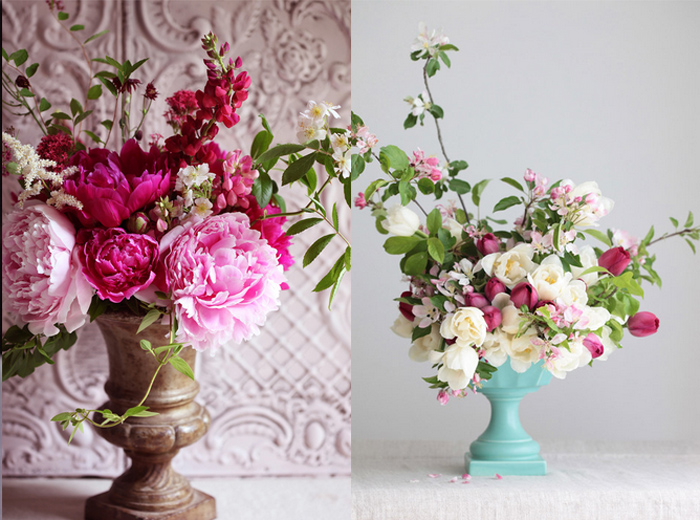 Decorating With Flowers decorating with cut flowers (now that your home is sparkling clean