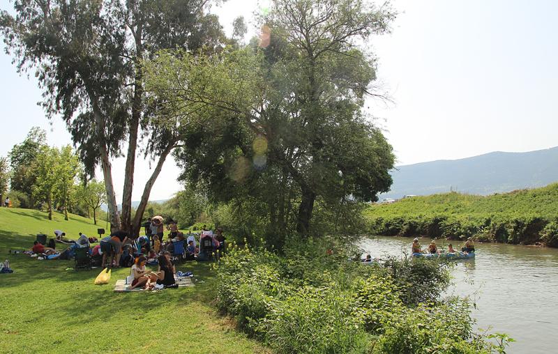 Jordan River Bank Park israel