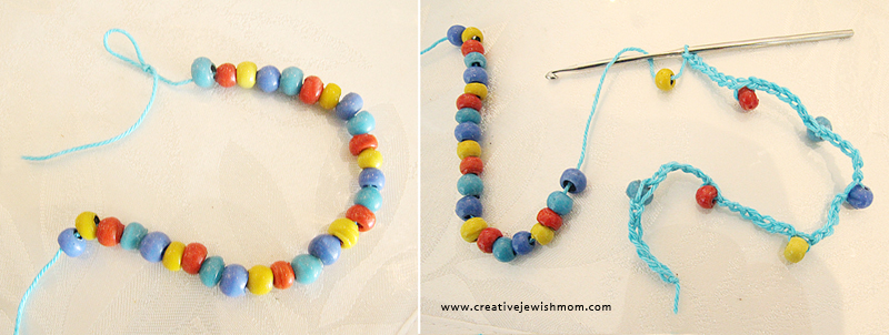 Crocheted Necklace How To