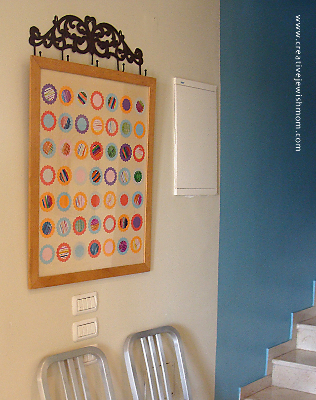 Counting the Omer Calendar Wall Art