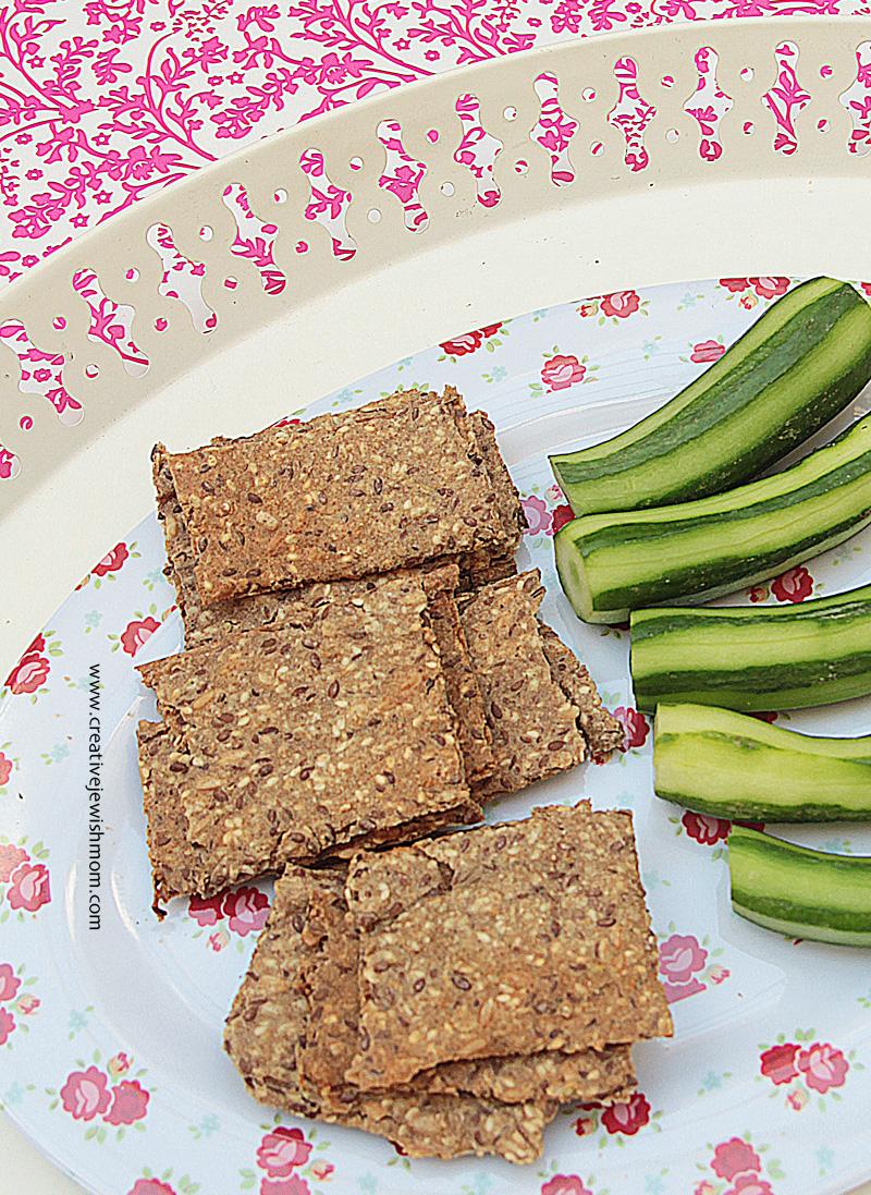 Spelt Crackers Healthy
