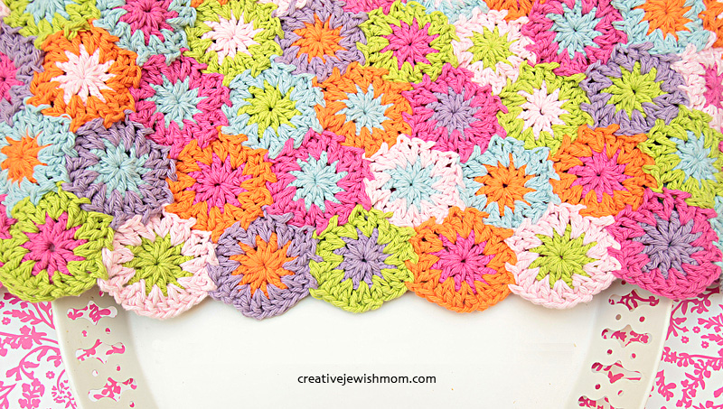 Crocheted Small Hexigons