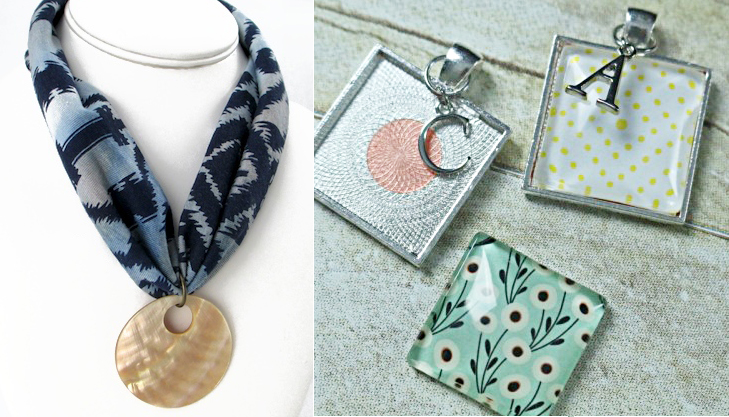 Monogram Necklace DIY headband necklace