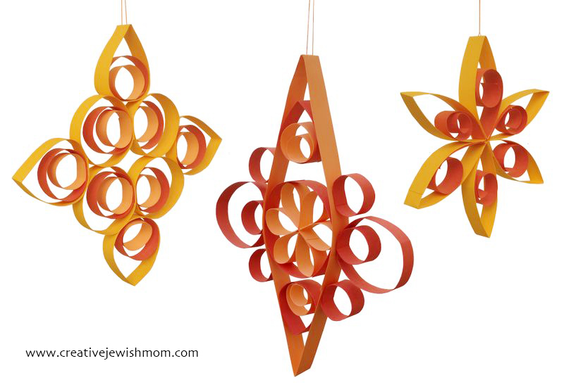 Succah decorations quilled paper