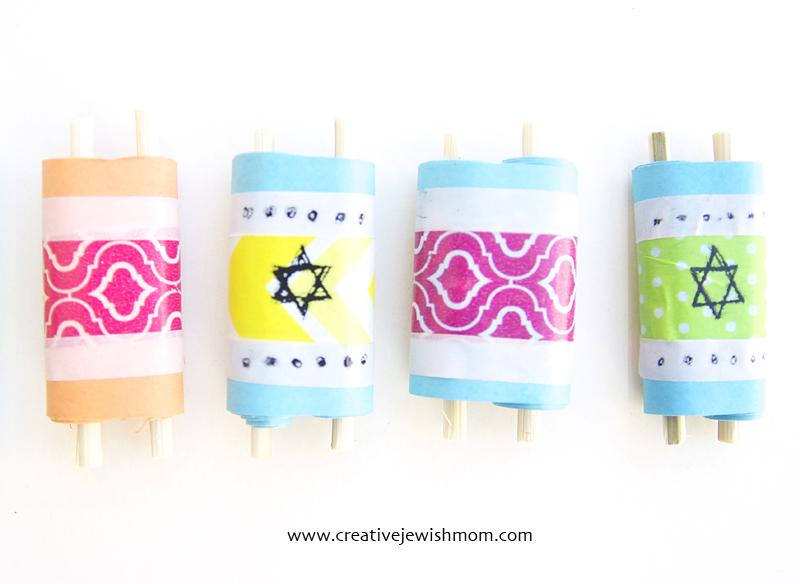 Torah scrolls craft