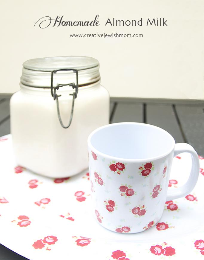 Almond Milk homemade