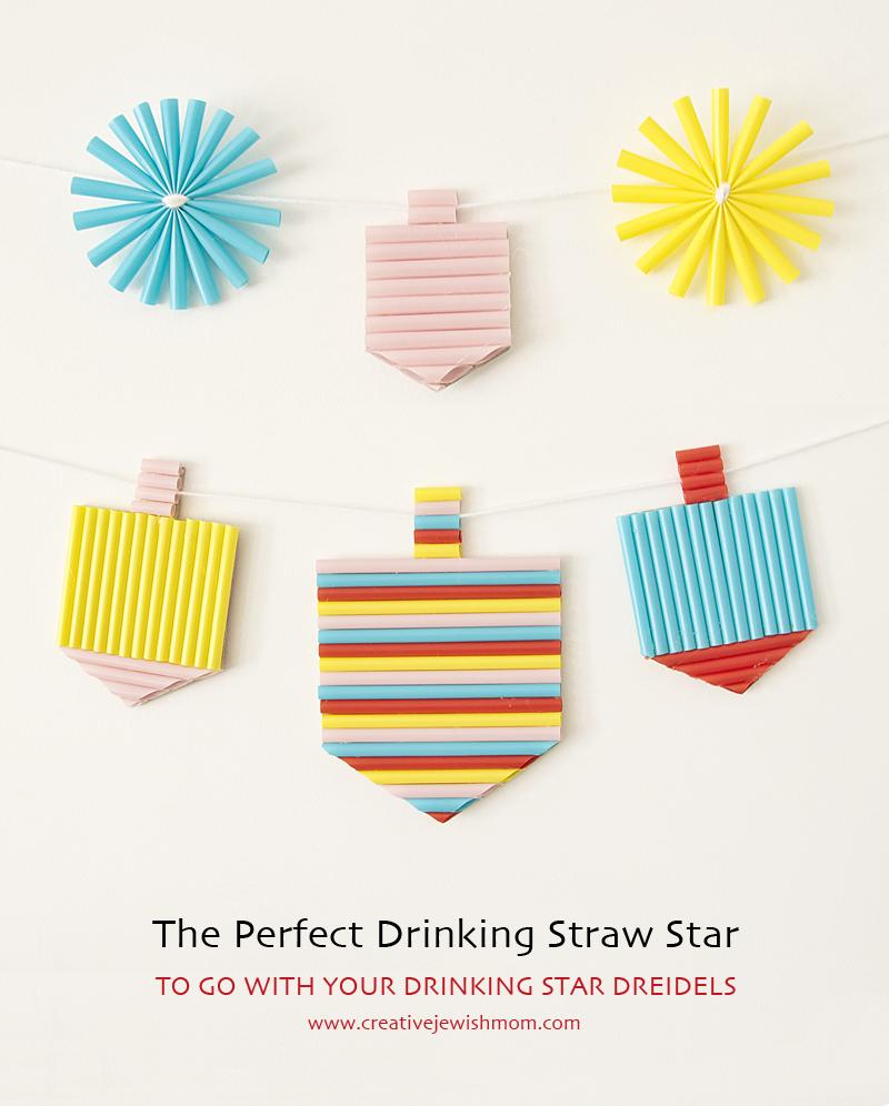 Drinking Straw Stars