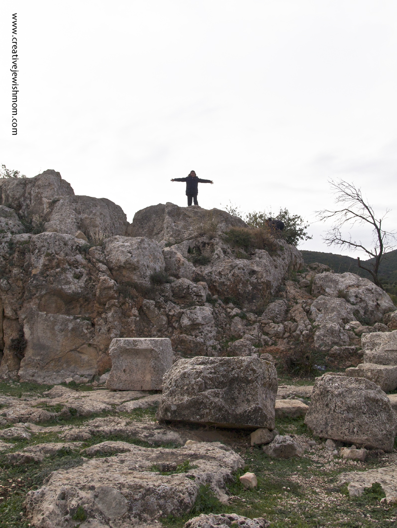 Meron Rabbi Shimon Yeshiva Ruins Climbing