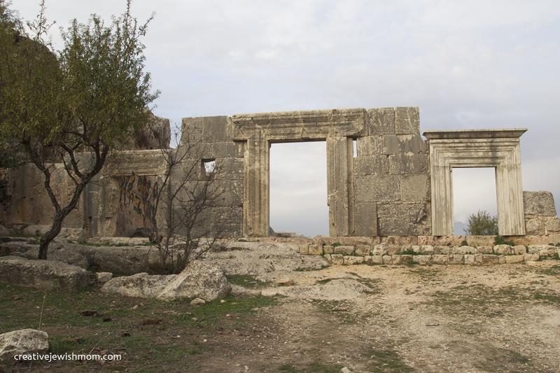 Meron Rabbi Shimon Yeshiva Ruins