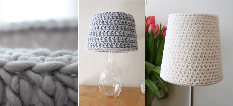 Crocheted Basic lampshade