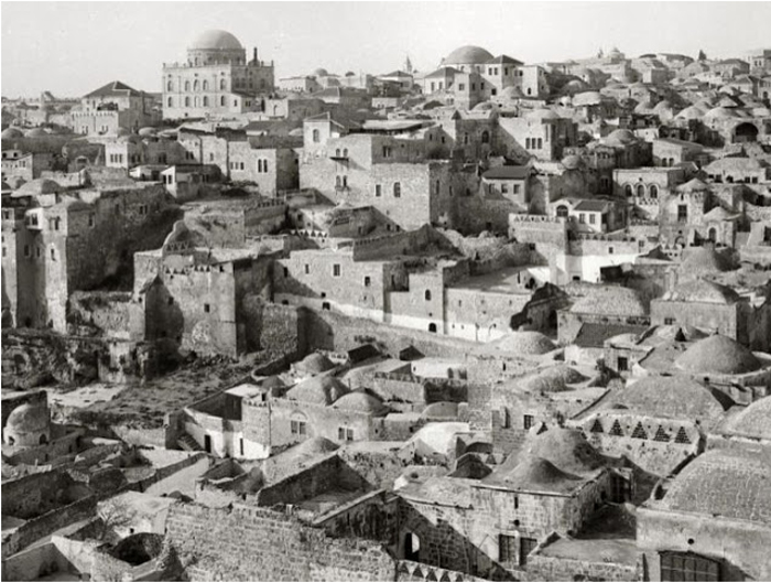 Israel Old Photo Of Jerusalem