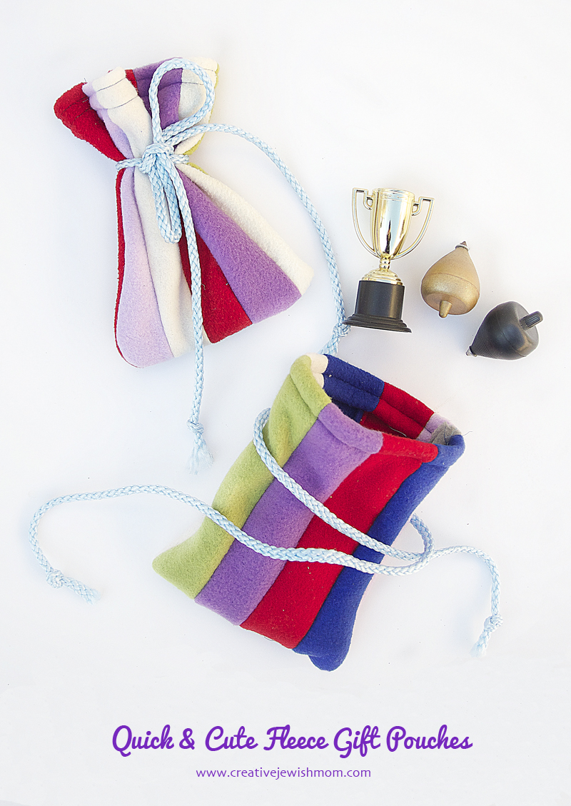 Fleece Gift Pouches Super Quick